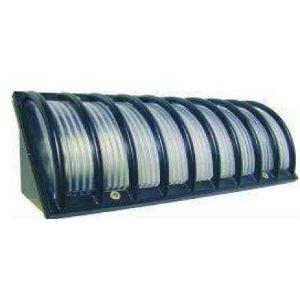 Elro WL110 - Demi-applique d'angle garniture aluminium
