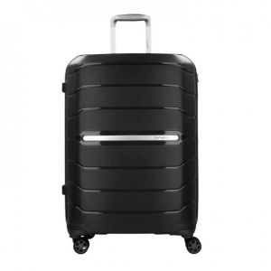 Samsonite Flux - Spinner 68/25 Expandable Bagage cabine, 68 cm, 95 liters, Noir (Noir)