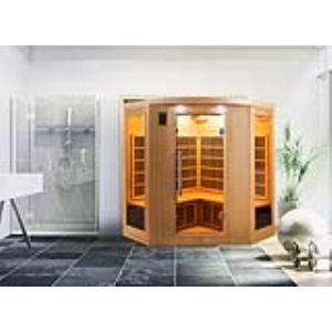 France Sauna Apollon 3/4 - Sauna cabine infrarouge pour 3/4 personnes