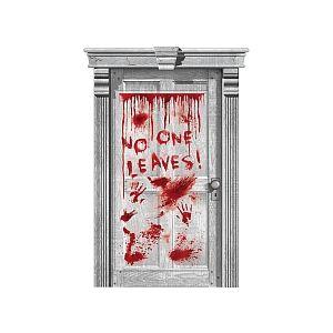 Amscan Décoration de porte Sang dégoulinant