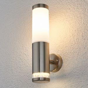 Lampenwelt Binka - Applique d'extérieur en inox