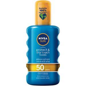 Image de Nivea Sun - Protect & Dry Touch - 200 ml - SPF 50