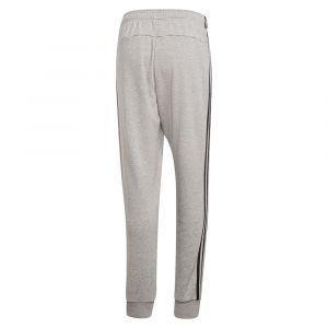Adidas Jogging Pantalon Essentials 3-Stripes Tapered Cuffed - Couleur EU XXL,EU L,EU XL,EU 3XL,EU 4XL,EU 5XL - Taille Gris