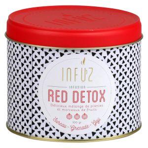 Infuz Infusions Red Detox - La Boite De 100g