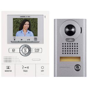 Aiphone JKS1AEDV - Kit vidéo couleur avec mémoire et zoom saillie antivandale