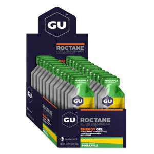 Gu Energy Gel Gu Roctane Pineapple Box 24 Unit