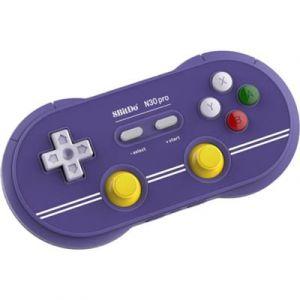 8Bitdo Manette de jeu N30 Pro2 NES Edition - bleu