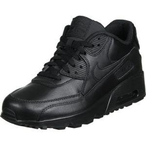 Nike Chaussure Air Max 90 Leather pour Enfant plus âgé - Noir - Taille 35.5