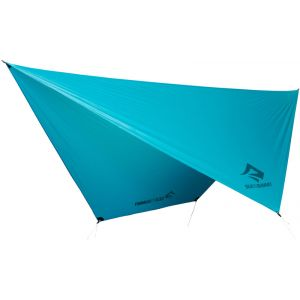 Sea to Summit Auvent et avancées Sea-to-summit Hammock Ultralight Tarp 15d - Blue - Taille One Size