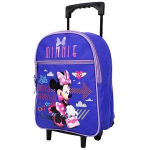 Sac à dos trolley fille Minnie