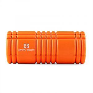 Capital Sports Caprole 1 - 6 rouleaux de massage 33 x 14 cm orange