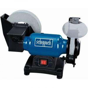 Scheppach Touret à meuler mixte (sèche : 150mm et à eau : 200mm) 250W - BG200W