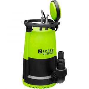 Zipper Pompe vide-cave 2 en 1 eaux claires et eaux chargées 350 W 230 V + flotteur - ZI-MUP350