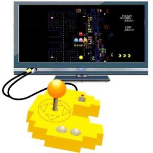 Manette Pac-Man Plug & Play