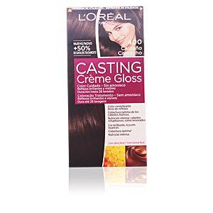 L'Oréal Casting Crème Gloss 400 Châtain - Coloration soin sans amoniaque