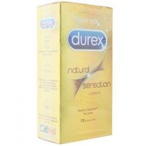 Durex Préservatifs Natural Feeling extra lubrifié (boite de 10)