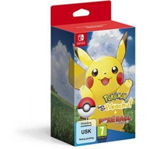 Pokémon : Let's Go, Pikachu ! + Pokéball Plus [Switch]