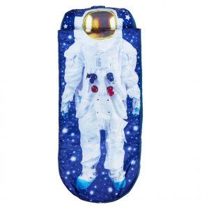"""Worlds Apart READYBED Lit d'appoint pour enfants avec couette intégrée""""Je suis un astronaute"""""""