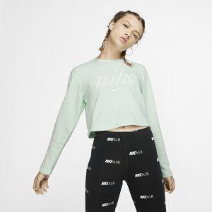 Nike Haut court Sportswear pour Femme - Vert - Taille S - Female