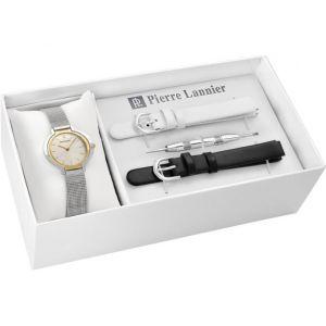 Pierre Lannier 360F648 - Coffret montre pour femme avec 3 bracelets