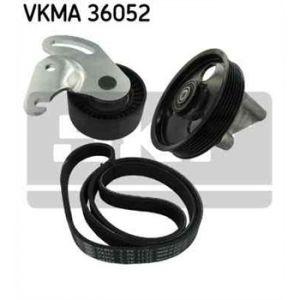 SKF Kit de courroies d'accessoires VKMA36052
