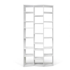 """TemaHome Étagère Bibliothèque """"Valsa"""" 21 casiers PM Blanc Mat"""