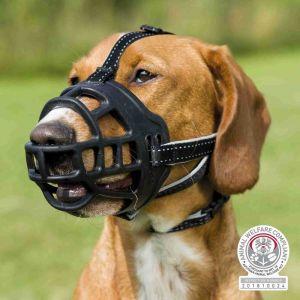 Trixie Muselière muzzle flex, silicone - L-XL, noir