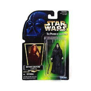 Kenner Star Wars Action Figure Power Of The Force - Emperor Palpatine With Walking Stick