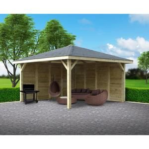 Kiosque de jardin / 12,96 m²