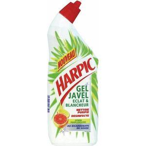 Harpic 10050001 - Flacon de gel javel eclat et blancheur (750 ml)