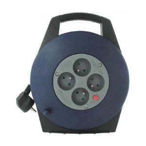 Dhome 243407 - Enrouleur domestique H05 VV-F 3G 1 mm² 10 m