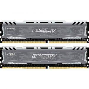 Crucial DDR4 Sport LT, Gris, 32 Go (2 x 16 Go), 3000 MHz, CAS 16 (5 % de réduction avec le code SNAP )