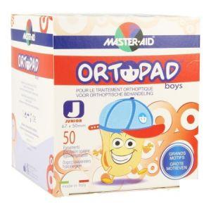 Ortopad Boys Grands Motifs Junior - Pansements orthoptiques adhésifs et occlusifs décorés