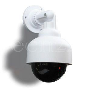 Edco Caméra factice dôme avec LEDs clignotantes
