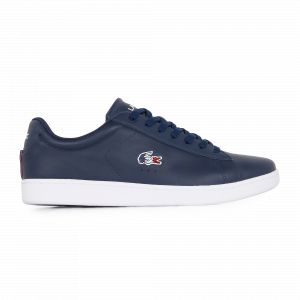 Lacoste Carnaby Tricolore Marine/blanc/rouge 41 Homme