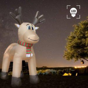 VidaXL Renne de Noël gonflable LED IP44 500 cm XXL