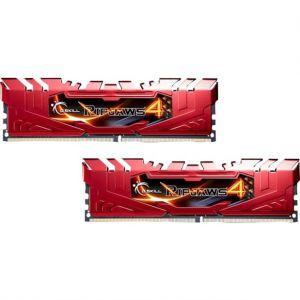 G.Skill F4-2800C16D-8GRR - Barrette mémoire RipJaws 4 Series 8 Go (2x 4 Go) DDR4 2800 MHz CL16 DIMM