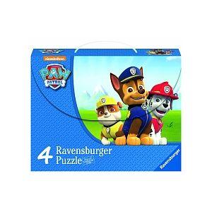 Ravensburger Valisette 4 puzzles Pat'Patrouille