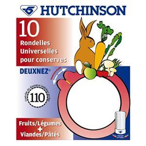 Hutchinson 10 joints à bocaux 2 nez Universel (82 x 110 cm)