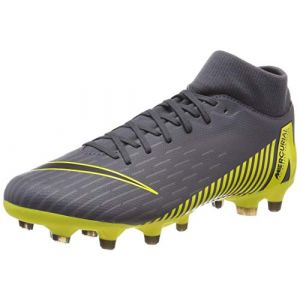 Nike Chaussure de football multi-terrainsà crampons Mercurial Superfly 6 Academy MG - Gris - Taille 45 - Unisex