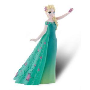 Bullyland Figurine Elsa La Reine Des Neiges Une Fête Givrée 11 cm