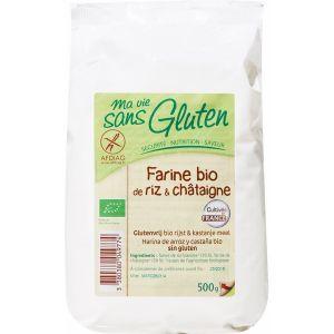 Ma vie sans gluten Farine de Riz et Châtaignes