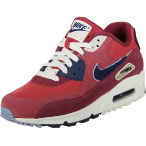 Nike Air Max 90 Premium Se Rouge Baskets/Running Homme