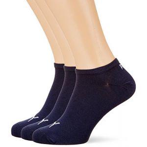 Puma Unisex Sneaker Plain 3P, Chaussettes de Sport Femme, Bleu (Navy 321), 35/38 (Taille Fabricant:035) (Lot de 3)