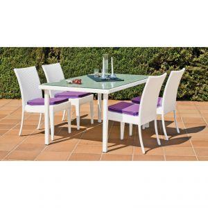 Ensemble repas table 4 chaises - Comparer 273 offres