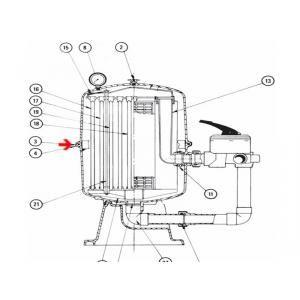 Procopi 252403 - Cerclage complet de cuve de filtre Fulflo