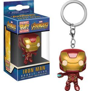 Funko Figurine - Pop - Porte-clés - Marvel - Avengers Infinity War - Iron Man
