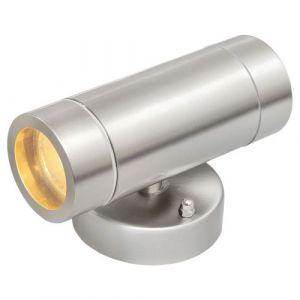 """MW-Light Applique Extérieur """"Trent III"""" Argent"""