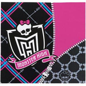 20 serviettes Monster High en papier
