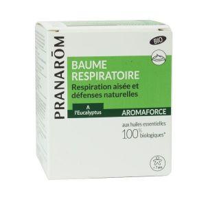 Pranarôm Baume respiratoire bio respiration aisée - 80 g
